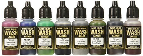 Vallejo Game Color Washes 17ml Paint (Wash Acrylic)