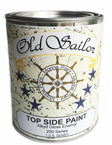 - Daly's Old Sailor Alkyd Gloss Enamel Marine and Industrial Paint, Black, 1 Quart
