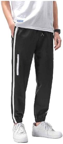 VITryst Men Relaxed-Fit Zip Waistband Stretchy Harem Oversized Pants