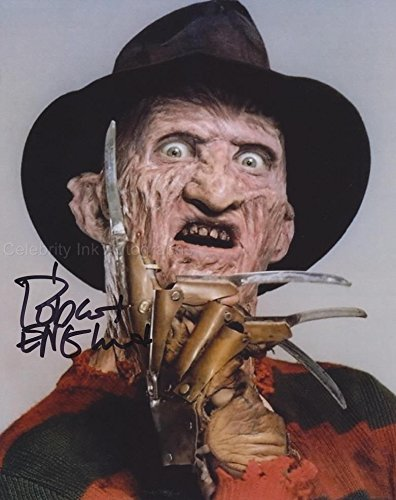 ROBERT ENGLUND as Freddy Krueger - Nightmare On Elm Street GENUINE AUTOGRAPH