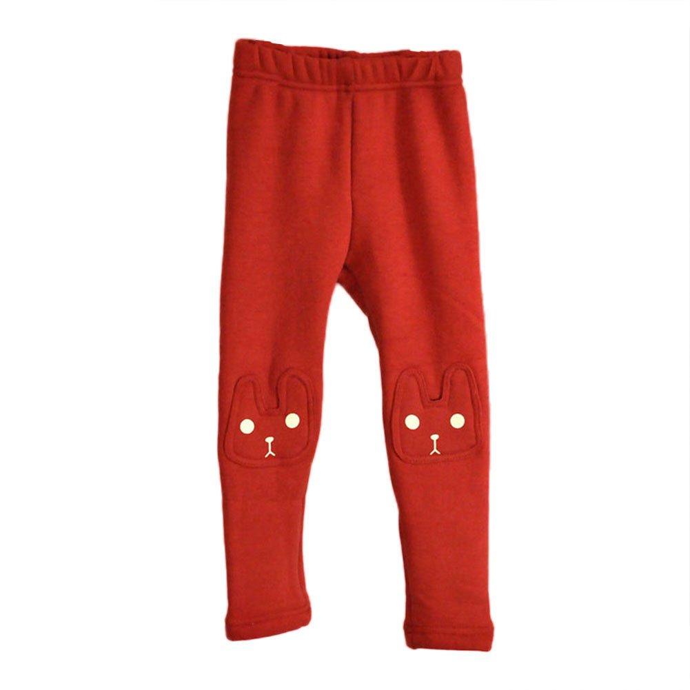 beeceafbb Amazon.com  BOBORA Kid Girls Legging Pants Cute Rabbit Printed ...