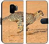 Samsung Galaxy S9 Flip Fabric Wallet Case Running at Full Speed in South Africa Acinonyx jubatus Image 33943583 Customized Tablem