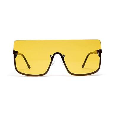 JJYJ Gafas de sol para Hombres mujer de gran tamaño medio ...