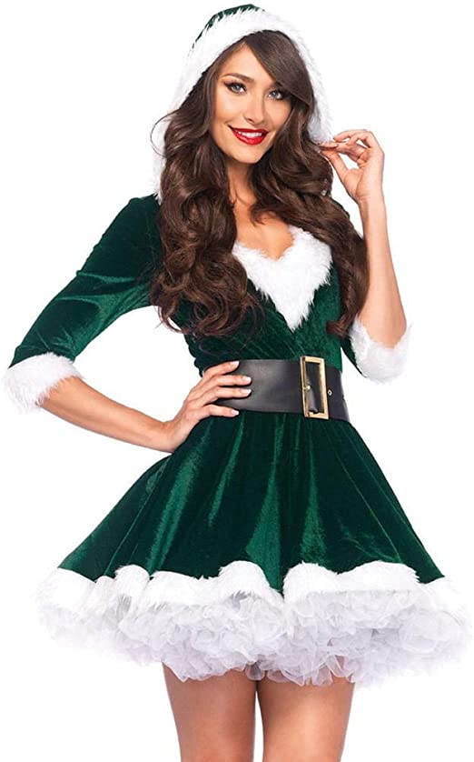 Sxjszhkjg Disfraz de Duende navideño, Disfraz de Navidad Adulto ...