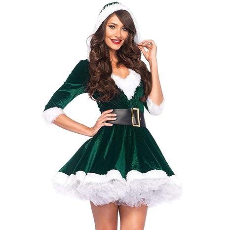 Sxjszhkjg Disfraz de Duende navideño, Disfraz de Navidad ...