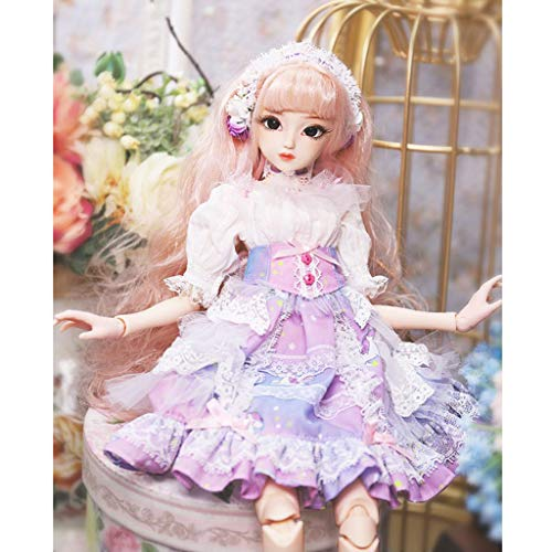 SM SunniMix 1/4 BJD Ball Jointed Doll Box Gift Modern Girl Body Clothes Accessories Set for DOD Mini Dollfie MSD SD AS Trisha