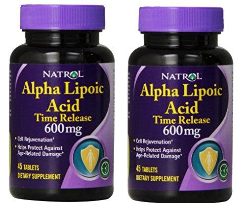 Natrol Alpha Lipoic Release Tablets