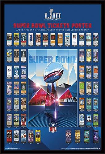 Ticket Wall (Trends International Super Bowl LIII-Tickets Wall Poster, 24.25