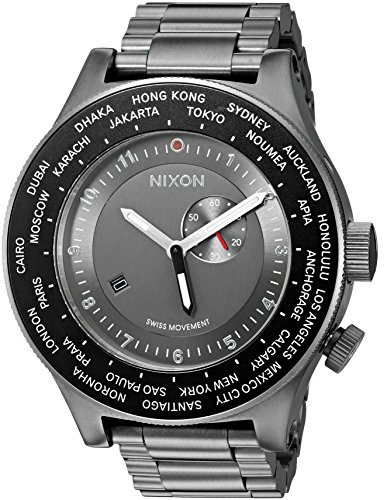 nixon-mens-a379131-00-passport-ss-analog-display-japanese-quartz-grey-watch