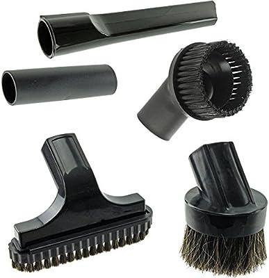 Spares2go Mini boquilla para escaleras y cepillo redondo Kit de herramientas para Nilfisk aspiradoras (32 mm): Amazon.es: Hogar