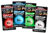 Night Sports LED Golf Ball 4-pack Red, Blue, Green White Picture