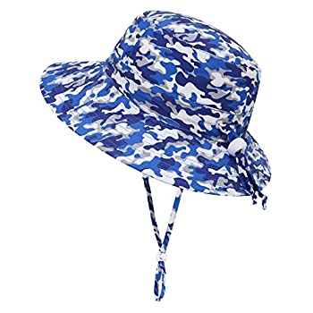 Simplicity Child UPF 50+ Adjustable Drawstring Huge Brim Bucket Solar Hat