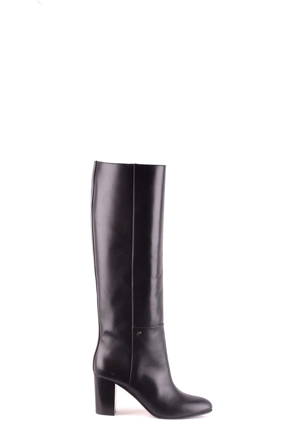- DSQUARED2 Women's MCBI31519 Black Leather Ankle Boots