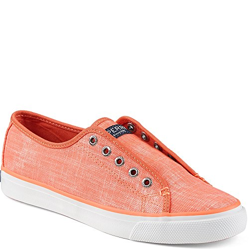 Sperry Top-sider Donna Seacoast Ripstop Fashion Sneaker Coral