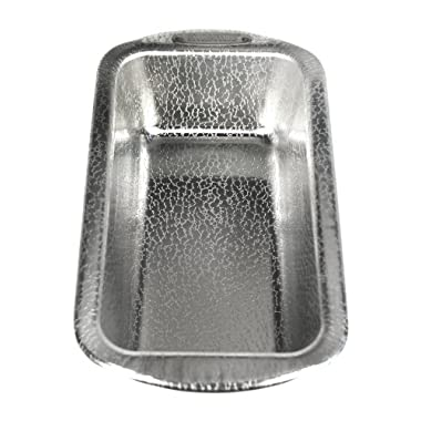 Doughmakers Aluminum Nonstick, Original Pebble Pattern, Commercial 8 1/2-inch by 4 1/2-inch Loaf Pan