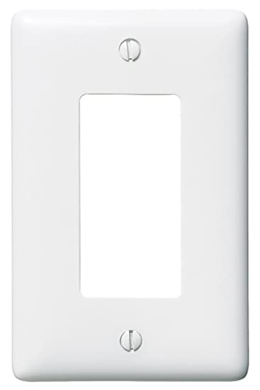 bryant electric np26w 1gang 1 wall plate white