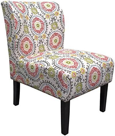 Best Master Furniture Middleton Floral Slipper Chair
