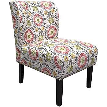 Amazon Com Madison Park Korey Accent Chairs Hardwood
