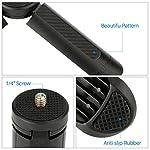 Ulanzi Mini Tripod Stand Handle Grip Monopod Selfie Stick for ZHIYUN Smooth 4/ Feiyu SPG 2 /DJI OSMO Pocket Moza Mini-Mi Gimbal Stabilizer 5