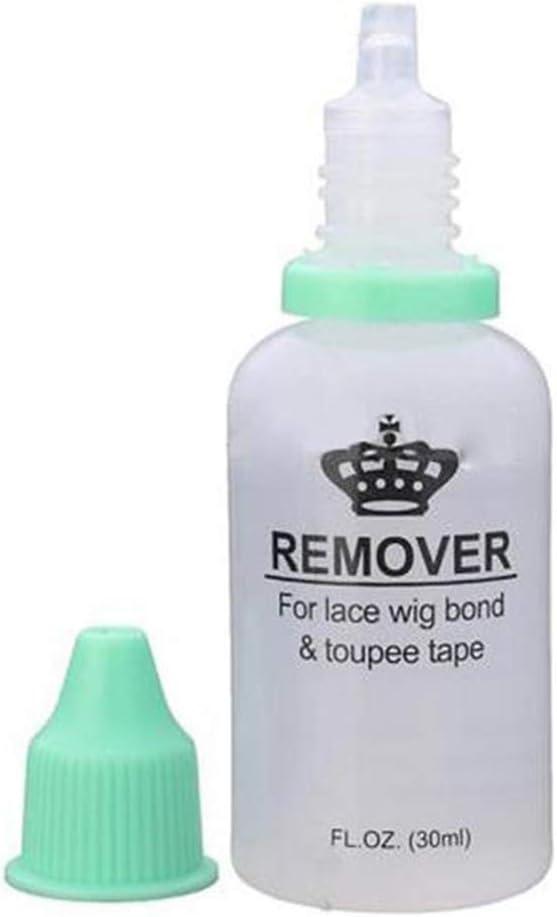 Supvox Removedor de pegamento adhesivo Extensiones de cabello Herramienta Solvente Peluca para encaje pelucas Toupees Cinta 30 ml