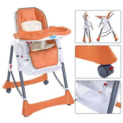 Antique Convertible High Chair Stroller - 4