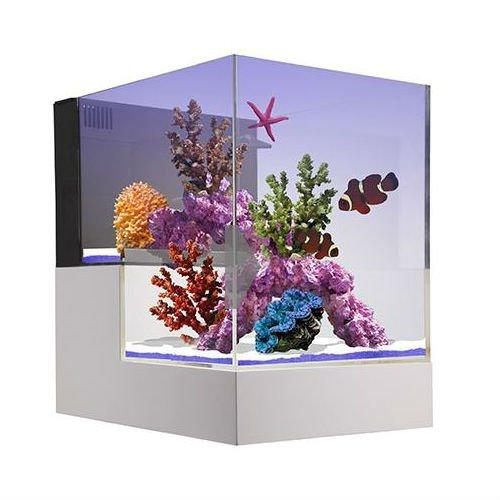 Innovative Marine Nuvo Concept Peninsula 20 Gallon Drop Off Aquarium