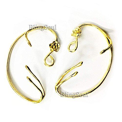 Beauty Belle Ear Cuffs - Emma Watson Earrings Jewelry Merchandise for Women Girls -