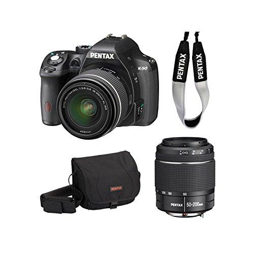 Pentax K-50 18 - 55/3.5 - 5.6 SMC DA al WR Cámara Digital de 16.5 ...