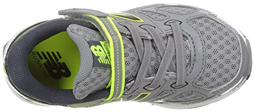 New Balance Boys' 680 V3 Running Shoe, Grey/Hi-Lite, 12 W US Little Kid Photo #6