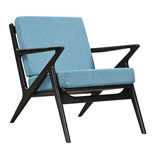 NyeKoncept 224479-C Dodger Blue Zain Chair, Black from NyeKoncept
