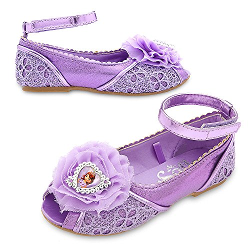 Toddler Sofia The First Deluxe Costumes - Disney Store Deluxe Sophia The First Costume Shoes Size 7 - 8 M US Toddler 2017