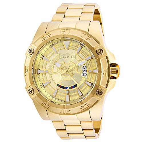 (Invicta Men's 26522 Star Wars Automatic Multifunction Gold Dial Watch)
