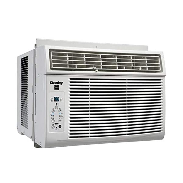 Danby 6,000 BTU Window Air Conditioner with Remote Control, White DAC060EB1WDB