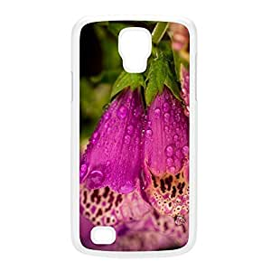 Foxgloves White Hard Plastic Case for Galaxy S4 Active by Mick Agterberg + FREE Crystal Clear Screen Protector