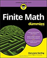 Finite Math For Dummies Front Cover