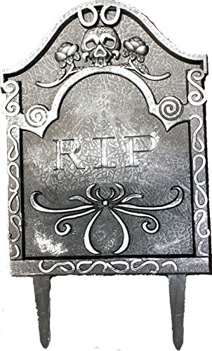 Plastic Halloween Tombstones, Props, Decorations and (Halloween Tomb Stones)