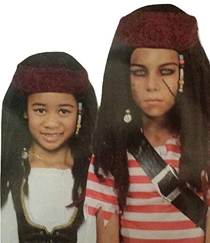 Wal-Mart Child's Pirate Wig -= One Size -