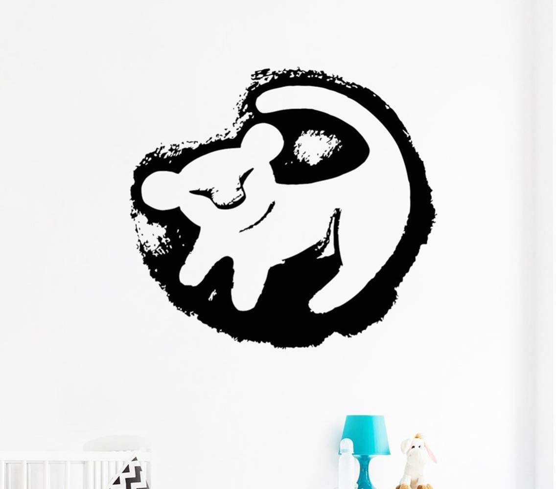 Lion King Baby Simba Tatuajes de pared Vinilo Adhesivo Habitación ...
