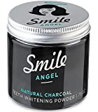 The Angel Co Activated Charcoal Teeth Whitener Tooth And Gum Powder By Smile Angel. An All Natural Safe Whitening Alternative To Toothpaste.