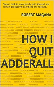 How quit Adderall successfully productive ebook product image
