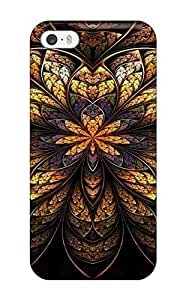 Hot Fractal First Grade Tpu Phone Case For Iphone 5/5s Case Cover