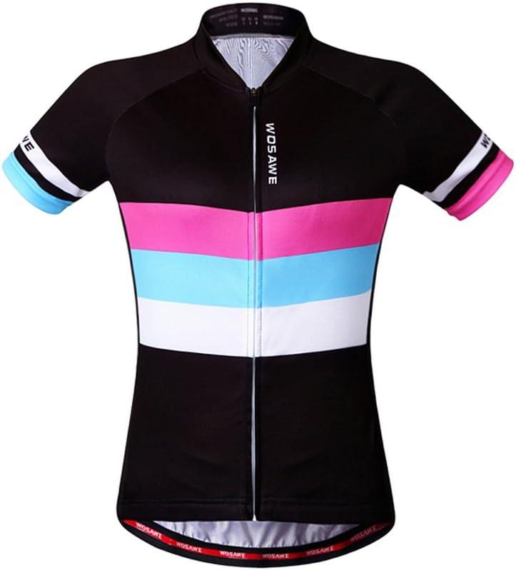 Wosawe Cycling Jerseys Bike Biking Shirts Womens Team Bicycle Clothing