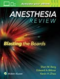 img - for Anesthesia Review: Blasting the Boards book / textbook / text book