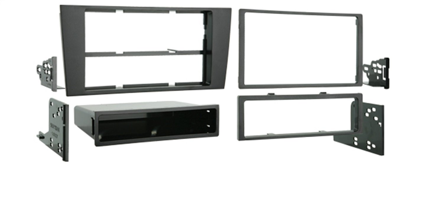 Metra 99-9105 Double DIN or Single DIN Installation Kit for 2000-2001 Audi A4 Metra Electronics Corporation