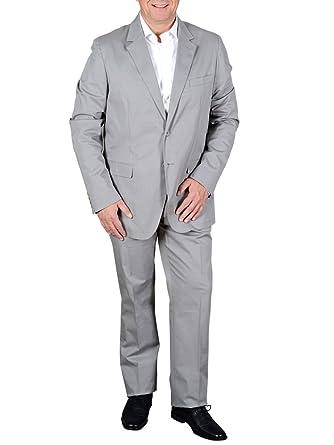 Calvin Klein - Traje - para hombre gris gris: Amazon.es ...