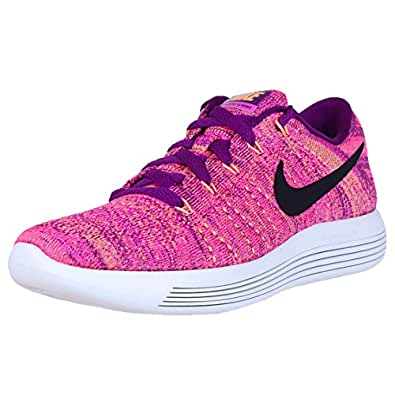 Nike Womens Lunarepic Low Flyknit Running Trainers 843765 Sneakers Shoes (UK 4.5 US 7 EU 38, Bright Grape 500)