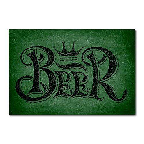 Placa Decorativa - Beer - Cerveja - 1377plmk