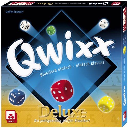 Nürnberger-Spielkarten 4024 - Qwixx Deluxe, Würfelspiel