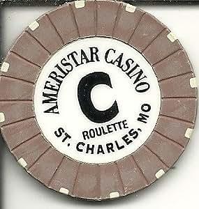 Amazon com : $1 ameristar roulette c casino chip missouri