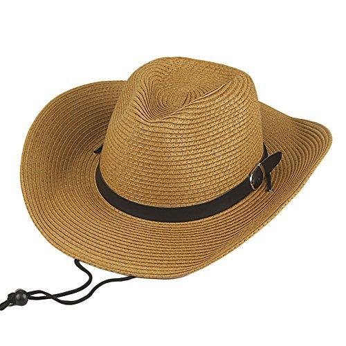 10 X Straw Cowboy Hat - 5